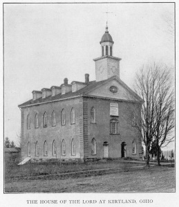 Kirtland Temple early 1900's