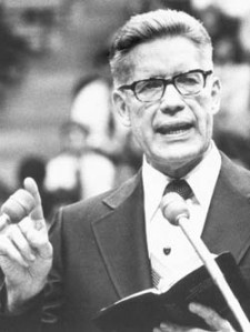 Bruce R. McConkie was a member of the Quorum of the Twelve Apostles of The LdS Church from 1972 until his death