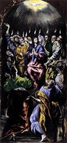 """El Greco, """"The Pentecost"""""""