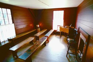 "The room in Newel K. Whitney's  Kirtland, Ohio home-based store where the seven lectures presented by Joseph Smith at the School of the Prophets were originally given.  They came to be published as the ""Lectures on Faith""."