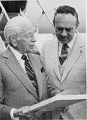 Herbert W. Armstrong and Joseph W. Tkach Sr.