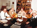 L to R: Bob Mumford, Don Basham, Charles Simpson, Derek Prince, Ern Baxter