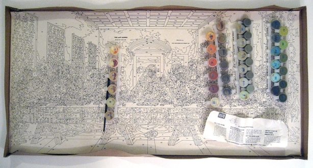 Last Supper Paint by Numbers Kit
