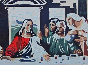 Last Supper Paint by Numbers