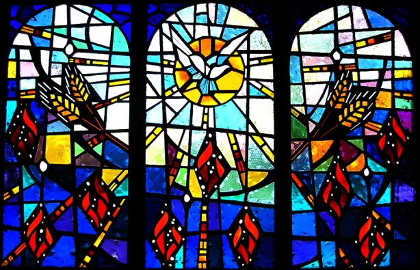 """Pentecost"" Stained Glass Window"