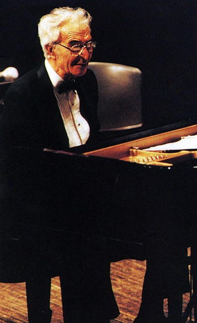 Dave Brubeck, in concert at the 1997 General Assembly. —Courtesy of Presbyterians Today
