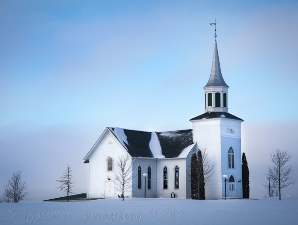 Church-at-Sunrise