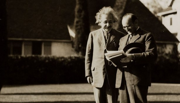 Einstein at Cal Tech.