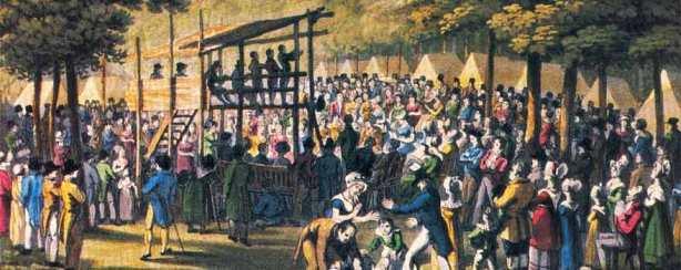 19th Century Restorationist Revival Meeting