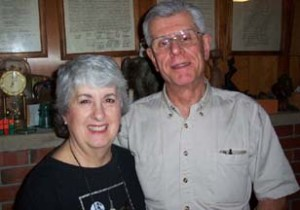 John Farkas with his wife Phyllis.