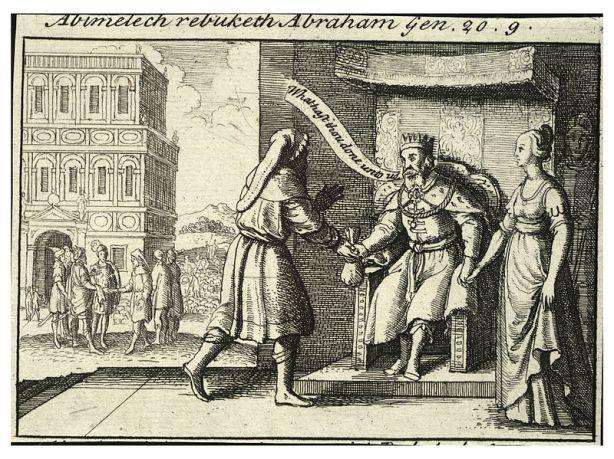 800px-Wenceslas_Hollar_-_Abimelech_rebuking_Abraham_(State_2)