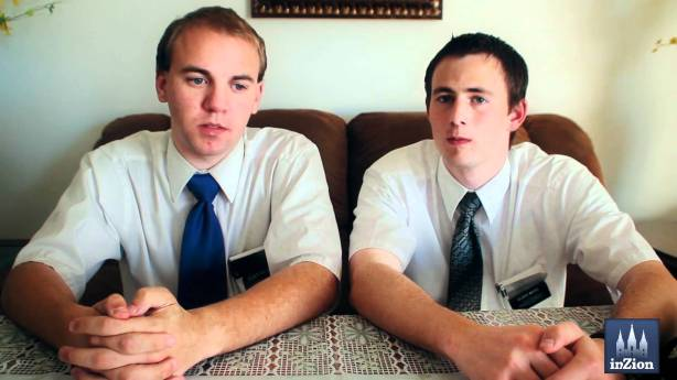 LDS Missionaries Bearing Their Testimony in the Hollywood, CA Ward