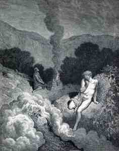"Gustave Dore', ""Cain and Abel Offering Their Sacrifices"" (19th Century)"