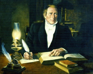 """Joseph Smith Translating"" by Nelson"