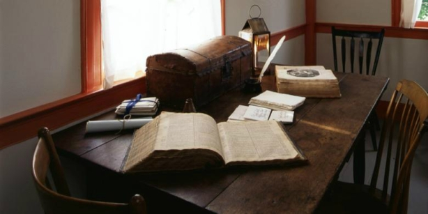Room in the Johnson home where Joseph Smith worked on The Joseph Smith Translation of the Bible