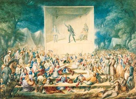 1829 Methodist Revival Camp Meeting