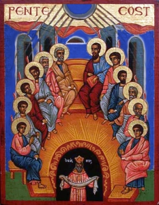"""Icon-Pentecost"" by Phiddipus"