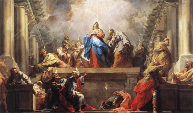 """Pentecost"" by Jean II Restout (26 March 1692 – 1 January 1768)"
