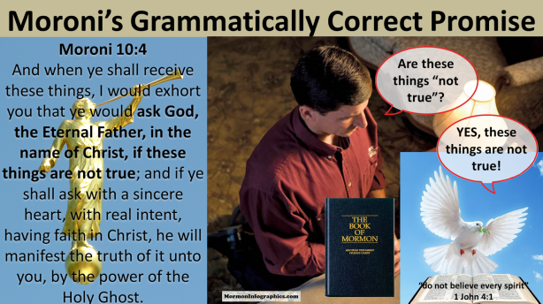 Moroni's Grammatically Correct Promise