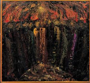 """Pentecost 4"" William Grosvenor Congdon (1912 - 1998)"
