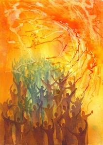 """""""Pentecost"""" by Wiggin"""
