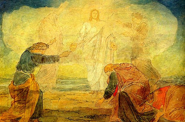 """Transfiguration"" by Alexander Andreyevich Ivanov, 1824"