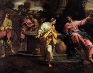 """The Samaritan Woman at the Well"" Annibale Carracci (Italian, 1560-1609)"