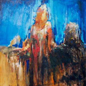 """Woman at the Well ii"" by Hyatt Moore (American)"